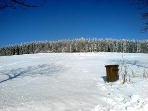 Herhenhainer Höhe im Winter