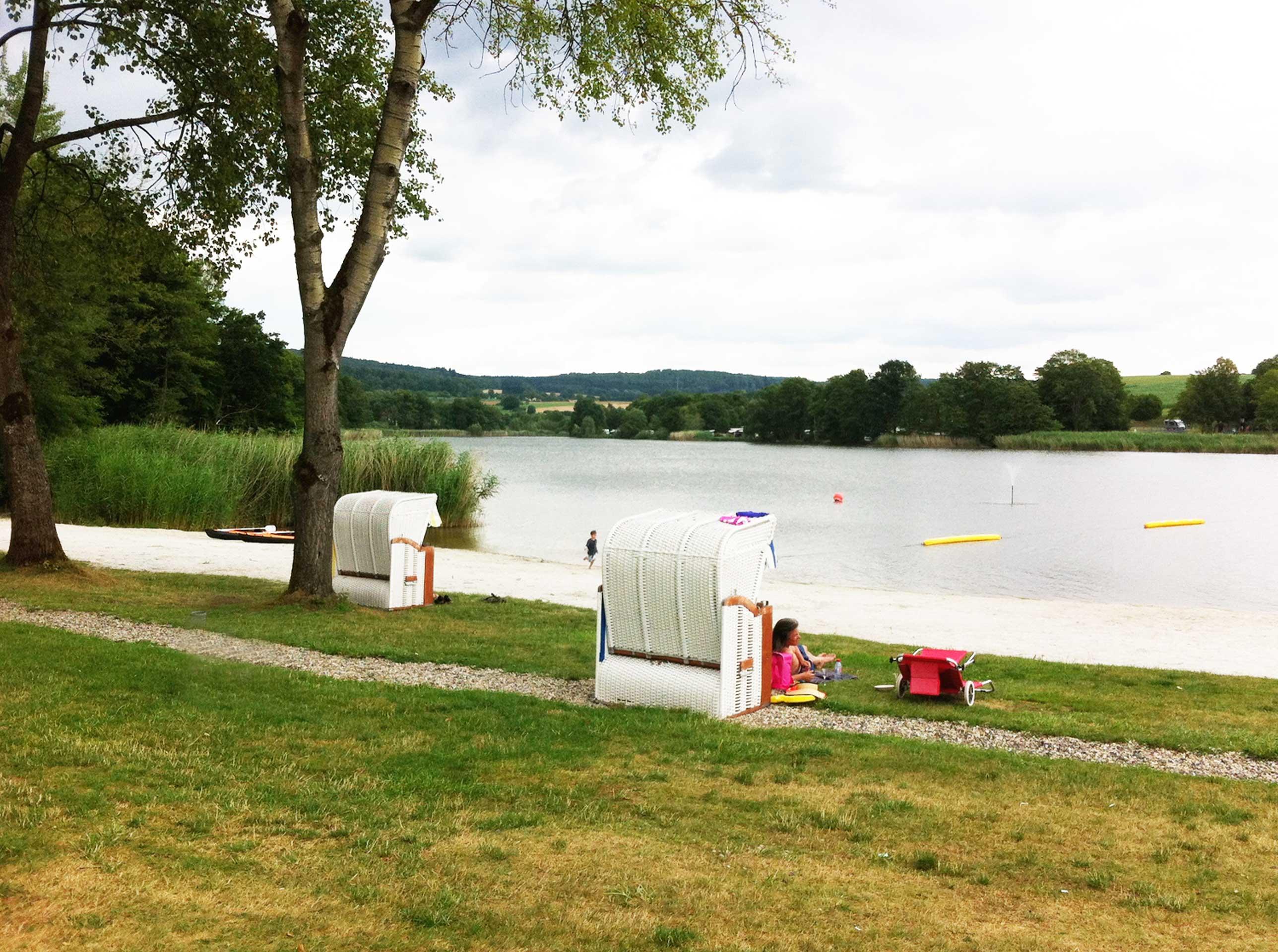Wasserspaß im Vogelsberg: Gederner See – Baden und erholen für Gross und Klein