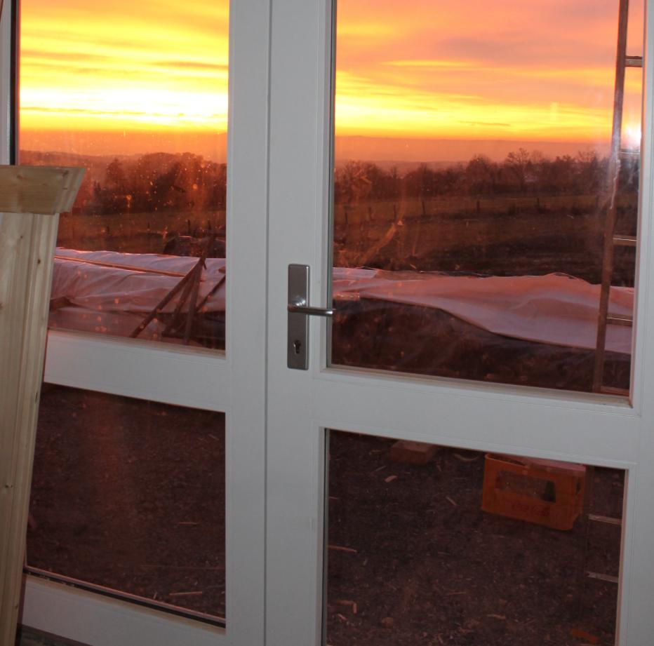Sonnenuntergang in der Vogelschmiede