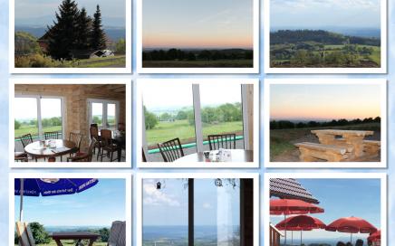 Von der Herchenhainer Höhe haben Sie einen Panoramablick über Panoramablick über Spessart, Odenwald, Wetterau und Taunus