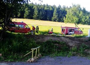 Feuerwehr und Hessenschau 2017 im Vogelsberg