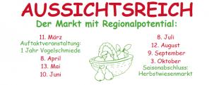 Aussichtsreich der Markt mit regionalen Produkten an der Vogelschmiede auf der Herchenhainer Höhe